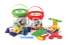 5 colour Play dough IML (1059)