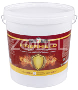 FIRESHIELD fire-retardant paint for wood and metal