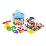 10 colour play dough in bucket + DVD-1068