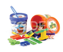 10 colour Play dough IML (1065)