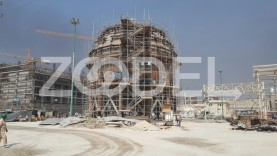 A Spherical Tank Petrochemical Project (Bushehr)