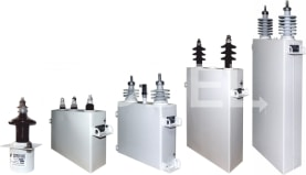 Special high-voltage and impulse capacitors