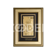 10 000 Tenge banknote in the frame