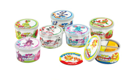 4 colour Play dough (1030)