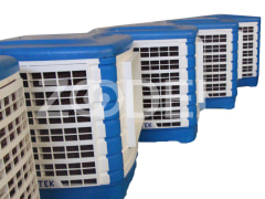 Evaporative Air Cooler With Polymer Case