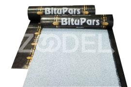 Waterproofing Membrane - Oxidized Bitumen - 1*10 sq.m. - Two Ply With Foil - 40 Kg - BituPars Brand