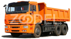 Side tipper (dump truck) KAMAZ 65115