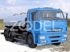 Water tanker truck KAMAZ 65115 for drink water