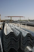 Galvanized-Guardrails-To-Prevent-Cars-Crashing-Distracting-From-The-Road-Ruein-Saz-Arak