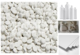 White Masterbatch - PS Based - For Disposable Polystyrene Containers, PS and ABS Injection Molded Parts For Use In Home Appliances, PS and ABS Sheets Used In Home Appliances - Pooyapolymer Company