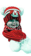 Children's hat and scarf set Code:436