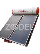 Solar Water Heater (High Pressure) - Model: Flat - Solar Kar Mehr Company