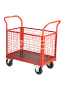 Closed Wire Cage Cart SE 3521
