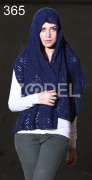 Knitted Shawl Model (Parvaneh) Code: 365