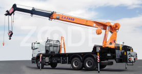 Truck-Mounted Telescopic Cranes (TLC 470) - 360 litters oil tank - Lajvar Company