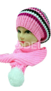 Girl's hat and scarf set  Code: 258