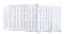 Standard Panel Radiator Type 21 with Height 400 mm