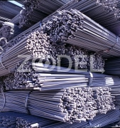 Deformed round steel bars