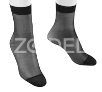 Women Mid Calf Socks 1/20 - Plain - In Different Colors - Model : 171 - Mahan Baft Hany Company