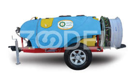 Trailed  Tractor Sprayer 1500 Litre Orchard Fan