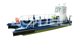 Skimmer Boat For Surface Debris & Oil Residues With 1 Life Tube & 2 Life Jackets - Fanavaran Syraf Company
