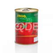 Tomato Paste - Pasteurized, Preservative Free, 400 g In Can - Jinoo Brand