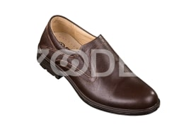 Leather Shoes - Natural leather with PU sole - Model 1107 Code 11107