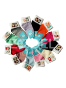 "Cotton Socks For Newborns - Turnover Top - 100% Cotton - Brand ""Sefid Barfi"""