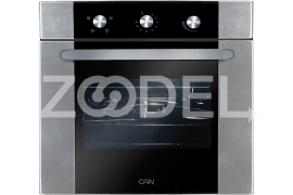 "Electric Oven - Built In, 59 Liters, With Double Glazed Glass, Timer, Maximum Temperature Of 250°C - Model: 6031EGB - ""Can"" Brand"