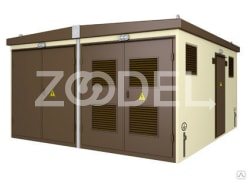 Modular transformer substation, made from concrete, for voltage of 6/10/20кV