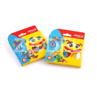 Play Doh - 6 Colors - Cardboard Pack - Arya Company - 1057