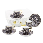 "Coffee Set from the ""Peacock"" Collection"