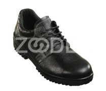 Steel Toe Shoes - Natural leather & PU sole, Black color, size 38-48 - Model Damavand Code 30101