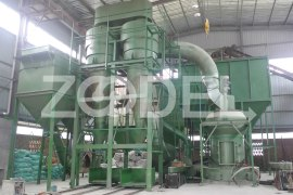 pendulum mill for barite powder processing