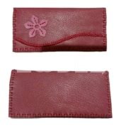 Handmade wallet. Natural leather