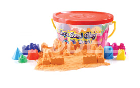 Moon Sand With Castle Molds And Tools - Arya Company - 1080