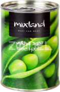 Canned Green Peas - 400 Gr Can - Mix Land Brand
