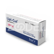 Lipi-cut 20 & 40 mg (Atorvastatin Tablets) - Reducing cholesterol and risk of heart and brain strokes - Dorsa Darou Company