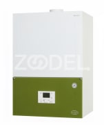 Wall mounted condensing gas boiler 145 kW