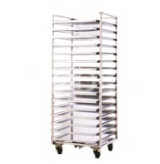 Tray Carrier Rack- Easy * Fast Charging & Discharging of Trays - 16 Racks for 60*90 Trays - Morshed Gohar Company
