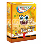 Breakfast Cereal Pillows with White Chocolate - 30 gr - Krcoosly - Shahab Energy Sobh