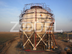 Construction of Spherical Tanks Of Poly Nar Company - IPS Company