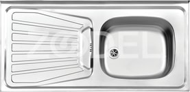 Built-In Sink (Model 165/50)