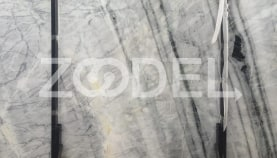 Marble - White With Black Veins - In Blocks And Slabs - Farzin Stone Company