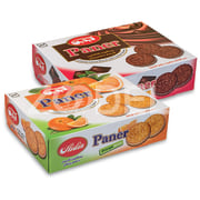 "Sandwich Biscuit in Different Flavors - 425 g Family Package - Aidin Brand ""Paner"""