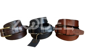 Genuine Cow Leather Belt For Men - Code : 4000M1 Milling - Gara Company