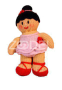 knitted doll (Medium size)
