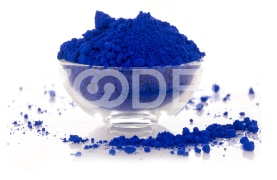 Lapis Lazuli Pigment For Use In Wall Mural, Printing Of Paper Coatings And Linen - Caspine Polymer