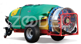 Trailed Sprayer For Orchards - 2000 Liters, Automizer, Model: Micron - Tala Sepid Shargh Industry