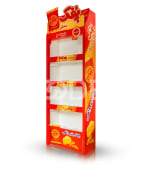 Display Shelve Stand - Corrugated Plastic Material, For Different Uses, Code: 39202010 - Nafis